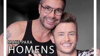 MAKE PARA HOMENS COM MAICON SANTINI | TORQUATTO TV