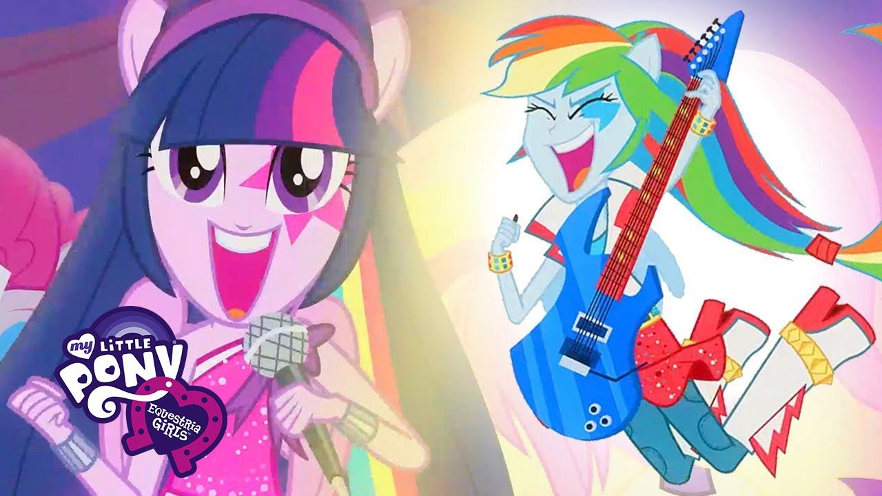 My Little Pony Song Awesome As I Wanna Be My Little Ponyeg Rainbow Rocks Songs Youtube