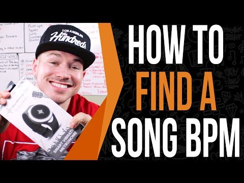 How To Find The BPM Of A Song In 30 Seconds (BPM Song Tool Inside)