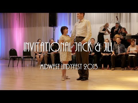 Midwest Lindyfest 2013 - Invitational Jack & Jill Spotlights & All Skate
