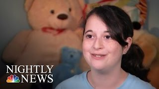 Young Girl Turning Suffering Into A Solution For Other Sick Children | NBC Nightly News