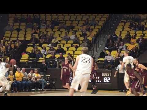 Wyoming's Lou Adams hits gamewinning shot against Montana