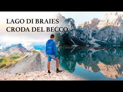 LAGO DI BRAIES & CRODA DEL BECCO 2810 m | La mia prima volta nelle DOLOMITI