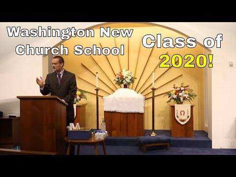 2020 Graduation, Washington New Church School and White Horse Academy