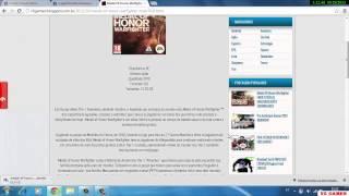 Download Medal of Honor Warfighter PC GAME COMPLETO(Não é DEMO)