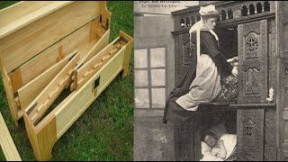"""People are Starting to Sleep in Medieval """"Box Beds"""" Again"""