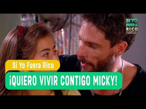 Si yo fuera rico - ¡Quiero vivir contigo Micky!-  El mundo de Pipe y Lucy - Capítulo 3