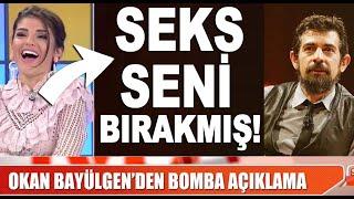 'Seksi bıraktım' diyen Okan Bayülgen'e Bircan Bali cevap verdi!