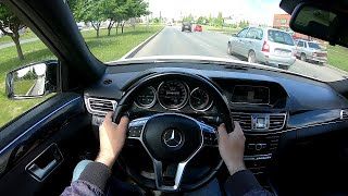 2013 Mercedes-Benz E200 POV TEST Drive
