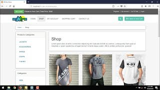 Erstellen Sie E-Commerce-Website-Tutorial : P 7 Erstellen Shop.php