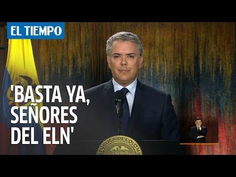 Iván Duque retira beneficios a cúpula del Eln | EL TIEMPO
