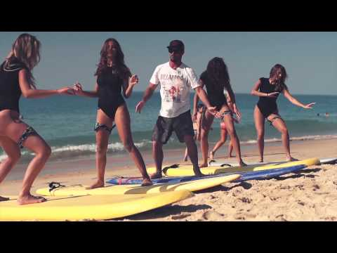 Monster Girls Surf Lesson with Sancho