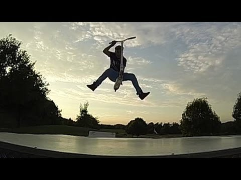 superman deck grab stunt scooter edit youtube. Black Bedroom Furniture Sets. Home Design Ideas