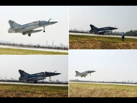 In Graphics: IN Pics: Air Force fighter planes land on Lucknow-Agra Expressway