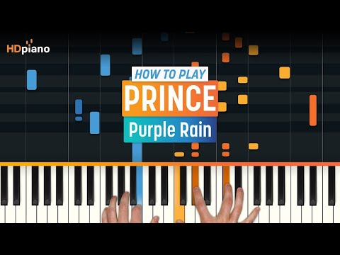 ALL PARTS FREE – How To Play Purple Rain  Prince  HDpiano Part 1 Piano Tutorial