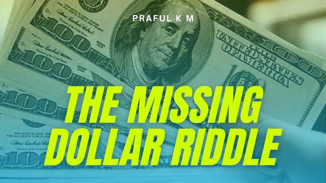 where is the missing dollar riddle