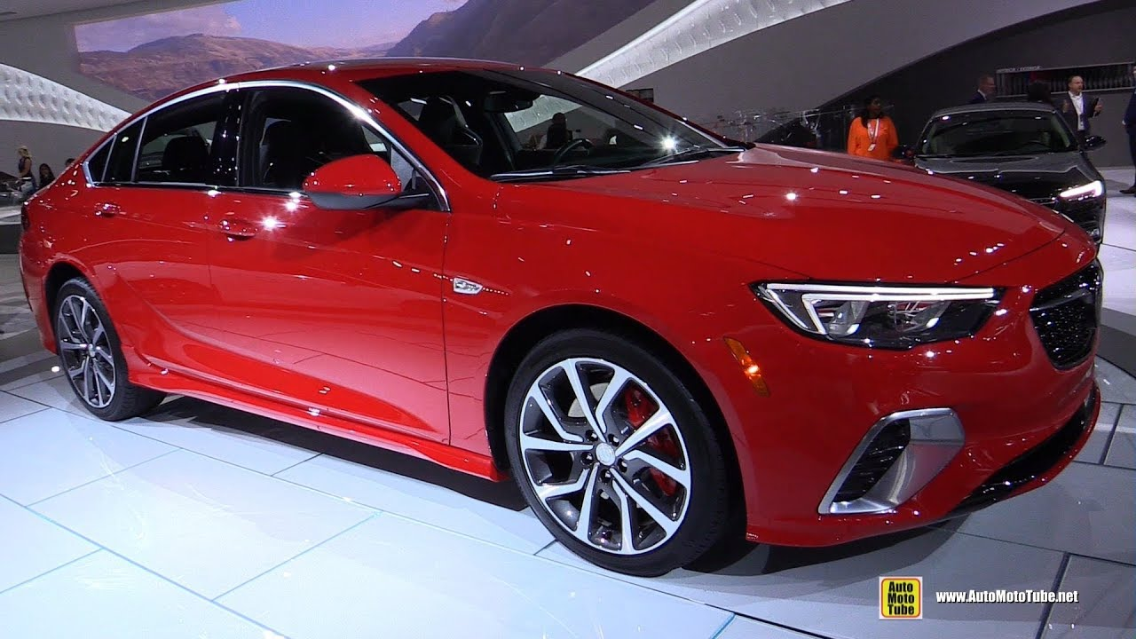 2019 Buick Regal Gs Exterior And Interior Walkaround Debut At