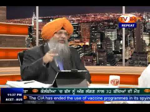 SOS 5/20/14 Part.3 Dr. Amarjit Singh on : A RSS Agent's  Threat  of  Wiping Out Sikhism From India