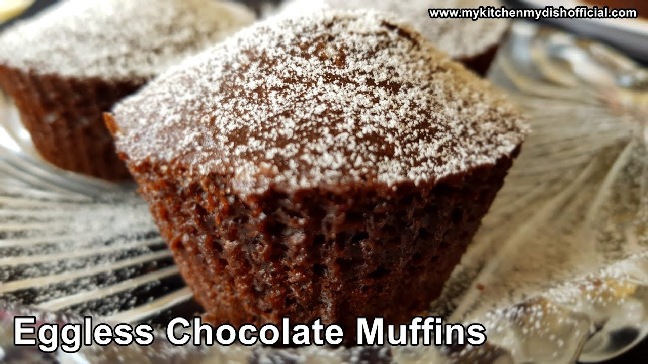 Eggless Cake Recipe In English: How To Make Chocolate Muffin Cake