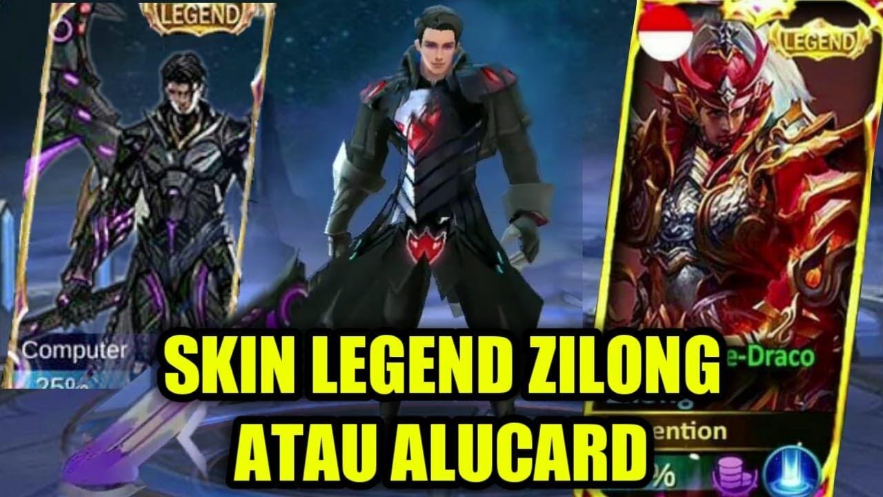 BOCORAN SKIN LEGEND ZILONG KELUAR SKIN LEGEND MANA YANG BENAR Mobile Legends Indonesia