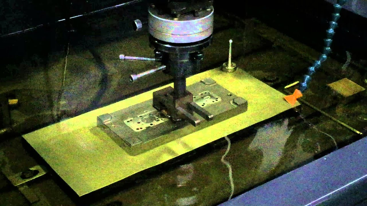 Plastic Injection tooling being produced with Mirror EDM process