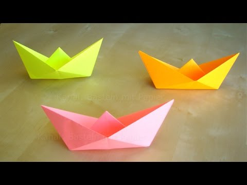 Origami Boat How To Mak A Paper Boat