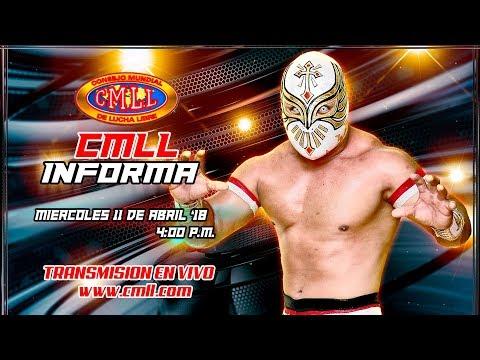 CMLL INFORMA 11 DE ABRIL DE 2018