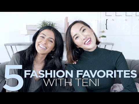 My Fashion Favorites with Teni Panosian and Chriselle Lim thumbnail