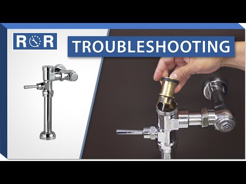 Troubleshooting An American Standard Manual Flushometer | Repair And Replace