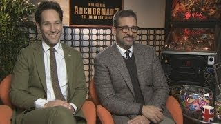 Anchorman 2 interview: Paul Rudd and Steve Carell discuss One Direction