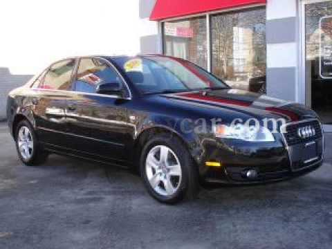 2006 audi a4 2 0t black on black framingham auto mall youtube. Black Bedroom Furniture Sets. Home Design Ideas