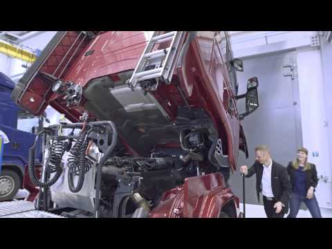 Inside track on innovation at Scania