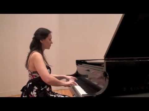 Karine Poghosyan plays Rachmaninoff's Moment Musicaux Op. 16, No. 4, e minor