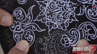一把马尾 巧变刺绣界的颜值担当 《是真的吗》 | CCTV精选