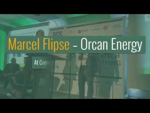 Orcan  Energy - Marcel Flipse on Greentech In Shipping