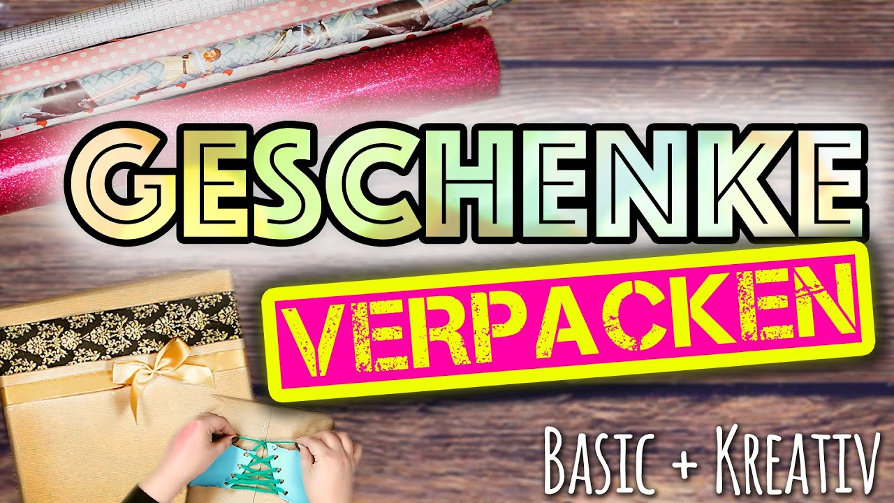 geschenke verpacken kreativ einpacken basics tipps inspiration mit l 39 occitane youtube. Black Bedroom Furniture Sets. Home Design Ideas