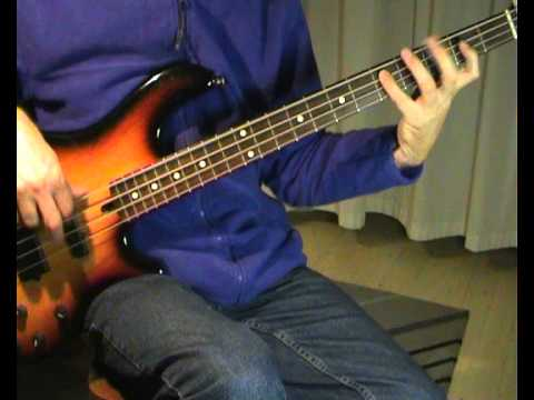 The Eagles - Hotel California - Bass Cover