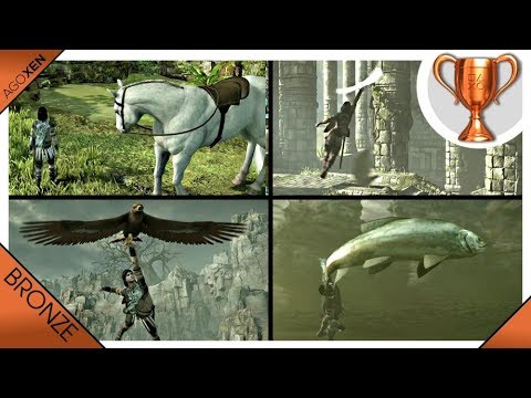 Shadow of the Colossus · Animals of the Land Trophy Video Guide | PS4 Pro (Animal Locations)