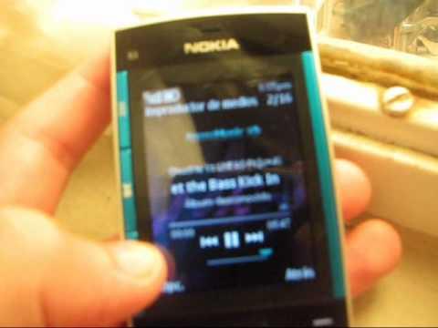preview del celular nokia x3 - español latino