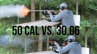 50 Cal ML vs. 30.06