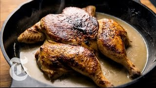 Craig Claiborne's Smothered Chicken | The New York Times
