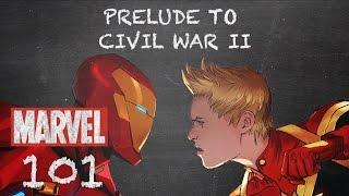 New Arguments Rise – Civil War II – Marvel 101