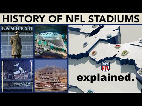 The Evolution of Every NFL Team's Every Stadium