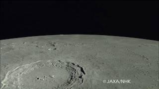 「かぐや」HDTVによるアポロ14号着陸地点付近