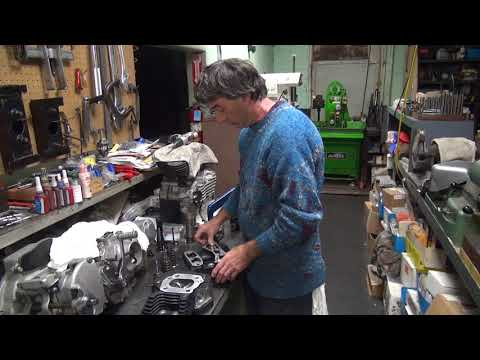 2005 xl 1200 #108 sportster porting head and cylinder rebuild repair roadster by tatro machine