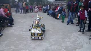 INTER SCIENCE COLLEGE HAZARIBAGH IN A STUDENTS MAKING PROJECT A T SEE SAY STUDENTS & TEACHERS