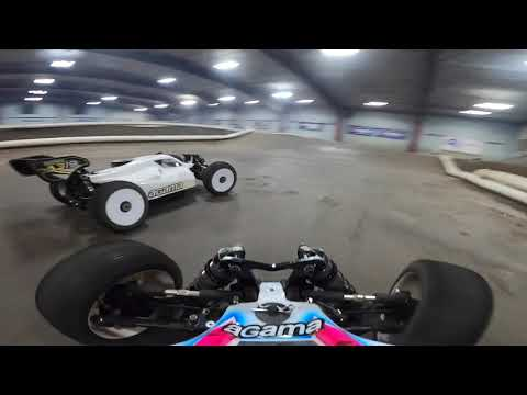 RC Car Chase Electric vs. Nitro [GoPro Hero 8 onboard action] [Ryan Lutz] with crashes and music!
