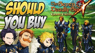 SHOULD YOU BUY?! Malevolent Knight Outfits! Seven Deadly Sins Grand Cross