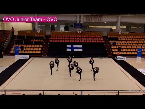 OVO Junior Team - Joukkuevoimistelun SM 2020 Helsinki