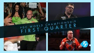 PDC World Championship | First quarter preview | MvG heavy favourite but faces Wade threat!